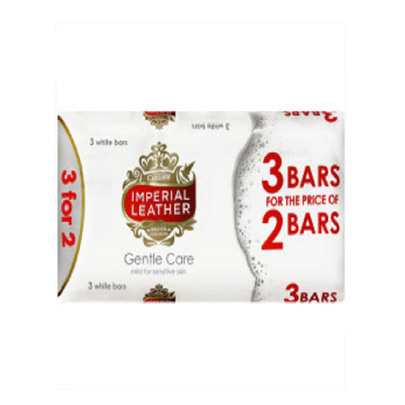 Imperial Leather Soap 100Gm Gentle Care 3 For 2 <br> Pack size: 12 x 100g <br> Product code: 333550