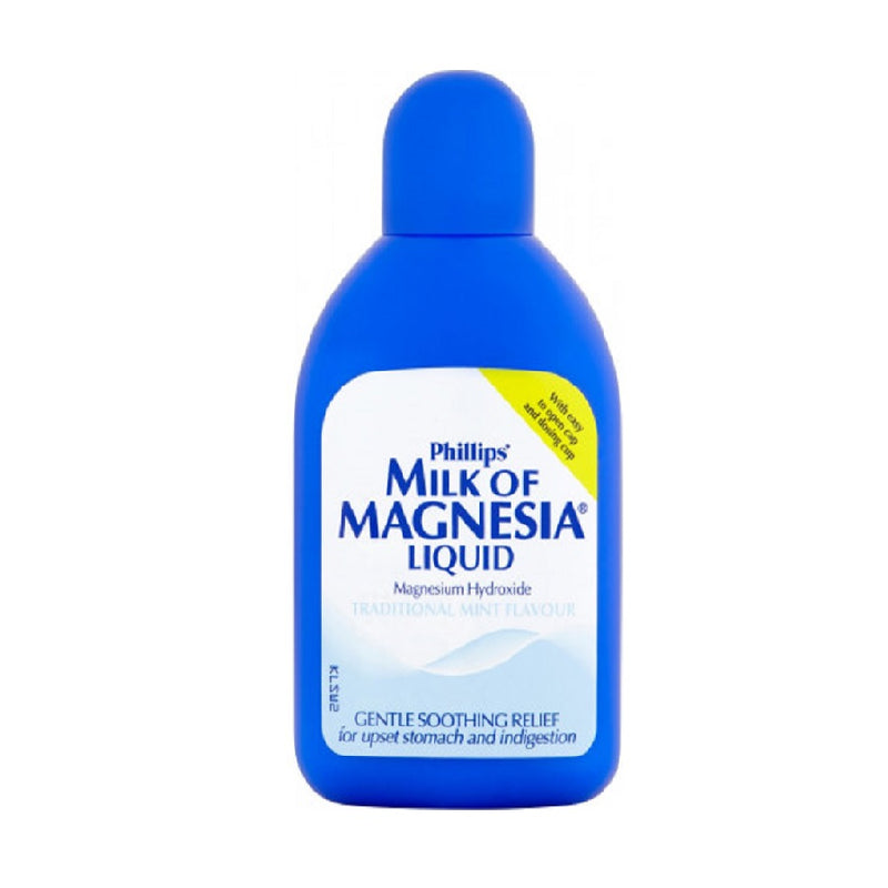 Milk Of Magnesia Regular 200Ml <br> Pack size: 6 x 200ml <br> Product code: 184202