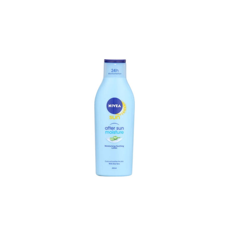 Nivea After Sun Lotion 200ml <br> Pack size: 6 x 200ml <br> Product code: 224706