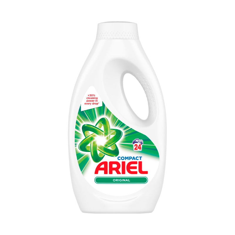 Ariel Biological Washing Liquid 24 Washes 840ml <br> Pack size: 4 x 840ml <br> Product code: 481676