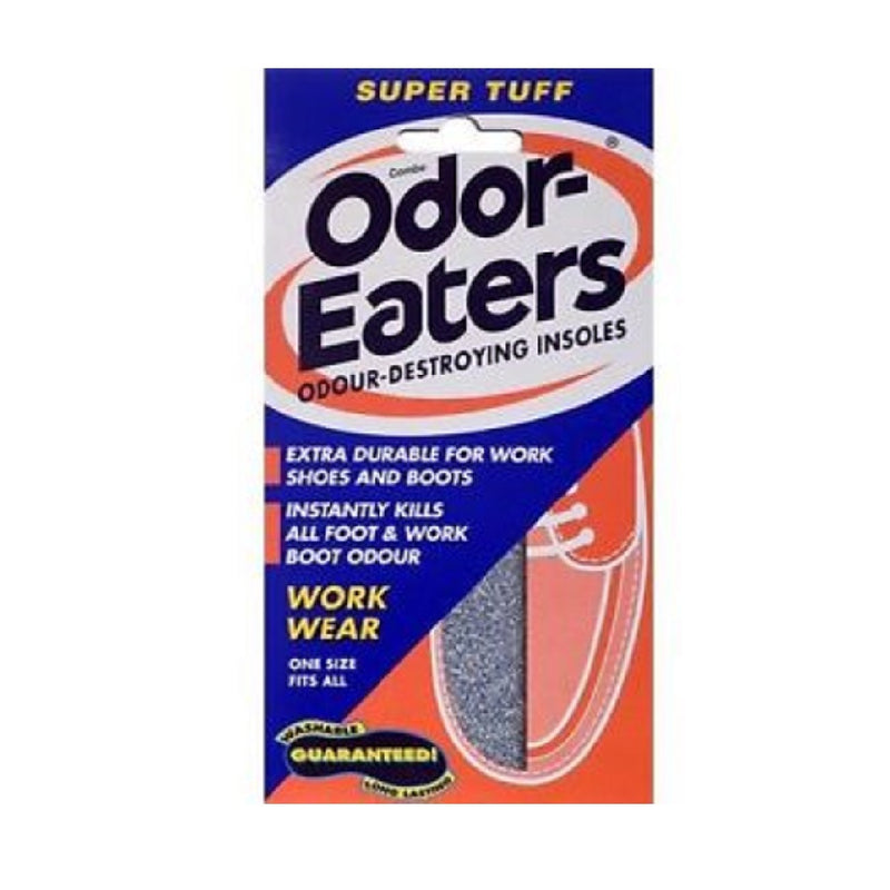 Odor Eaters Insoles Super Tuff <br> Pack size: 6 x 1 <br> Product code: 132560