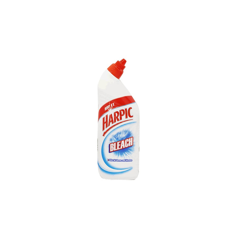 Harpic Bleach 750ml (PM £1.00) <br> Pack size: 12 x 750ml <br> Product code: 462500