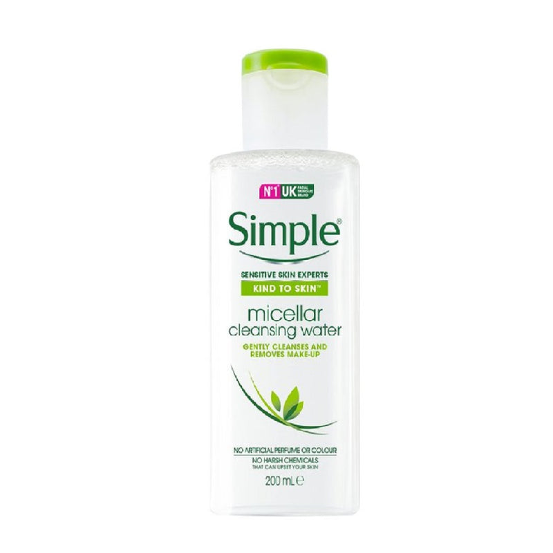 Simple Micellar Water 200Ml <br> Pack size: 6 x 200ml <br> Product code: 226530