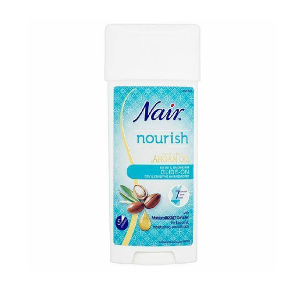 Nair Glide On 100Ml <br> Pack size: 6 x 100ml <br> Product code: 166600