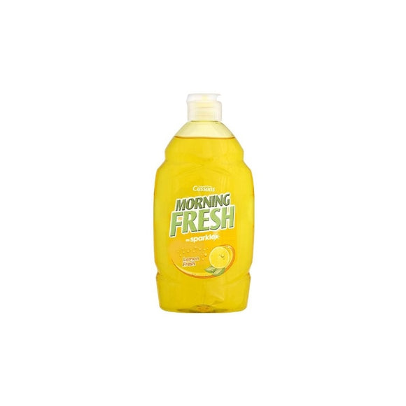 Cussons Morning Fresh Washing Up Liquid Lemon 450ml <br> Pack size: 6 x 450ml <br> Product code: 473016