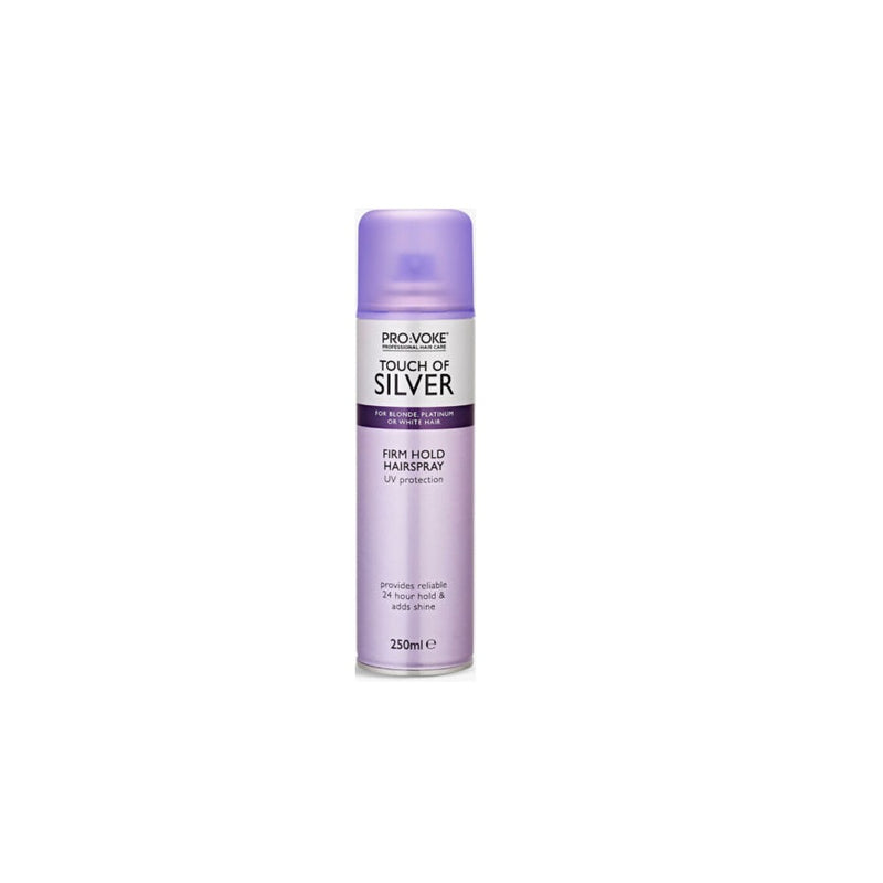 ProVoke Touch of Silver Hairspray 250ml <br> Pack size: 6 x 250ml <br> Product code: 168180