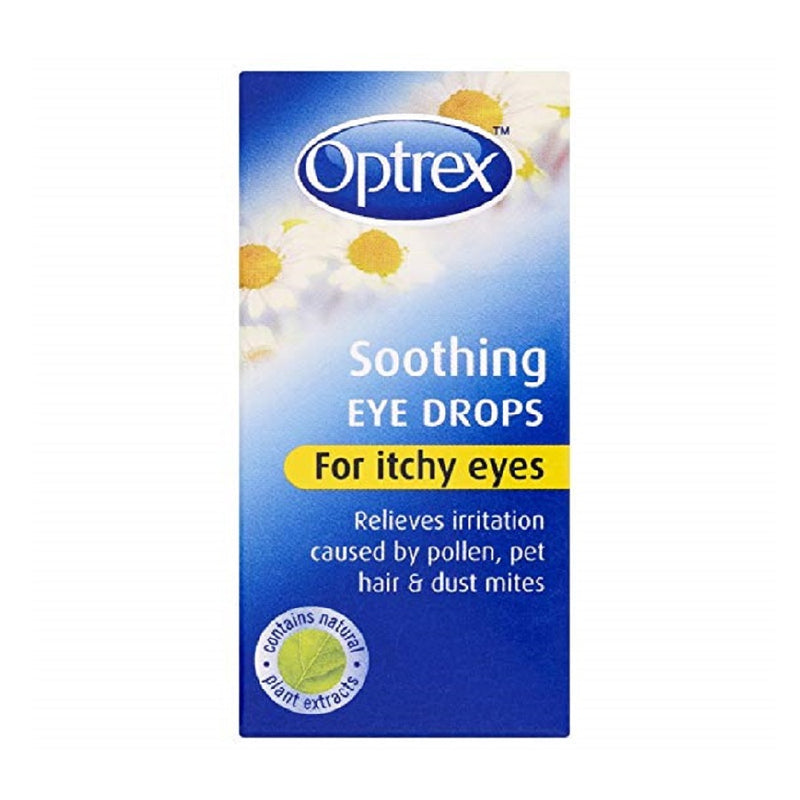 Optrex Itchy Eye Drops 10Ml <br> Pack size: 6 x 10ml <br> Product code: 155300