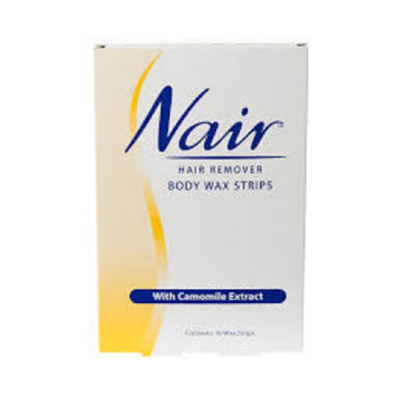 Nair Body Wax Strips 16'S <br> Pack size: 6 x 16s <br> Product code: 166512