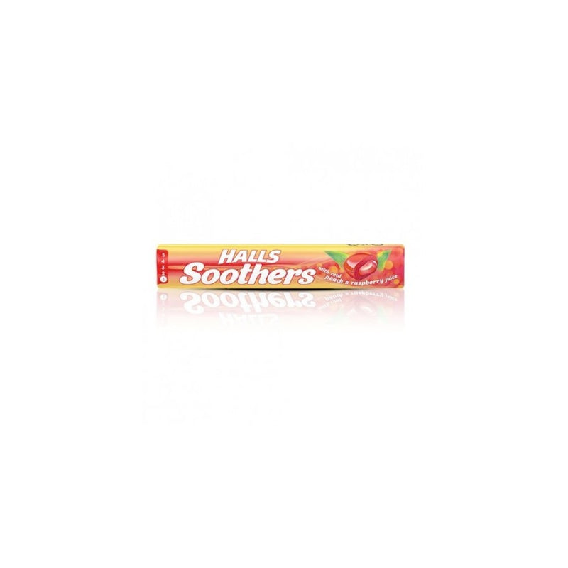 Halls Soothers Peace & Raspberry <br> Pack size: 20 x 1 <br> Product code: 193082