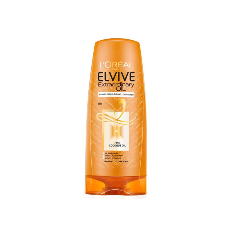 L'Oreal Elvive Conditioner Extraordinary Coconut Oil 250ml <br> Pack size: 6 x 250ml <br> Product code: 181326