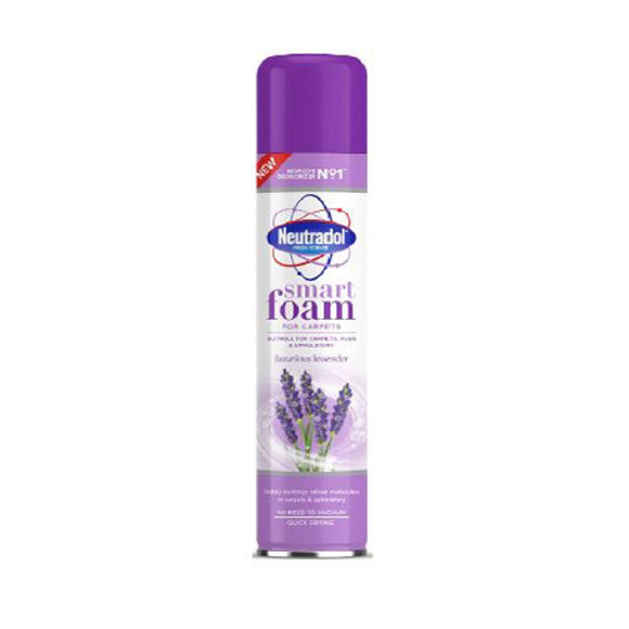 Neutradol Smart Foam 300M Lavender <br> Pack size: 6 x 300ml <br> Product code: 546276