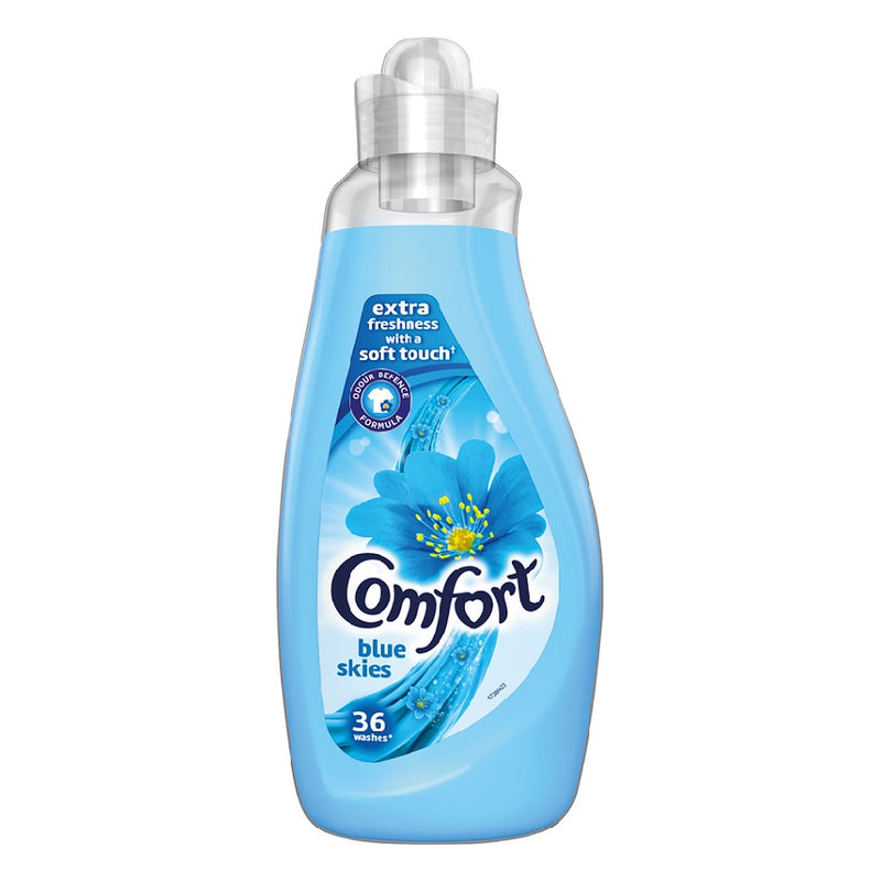 Comfort Fabric Conditioner Blue Skies 1.26ltr <br> Pack size: 6 x 1.26l <br> Product code: 443750