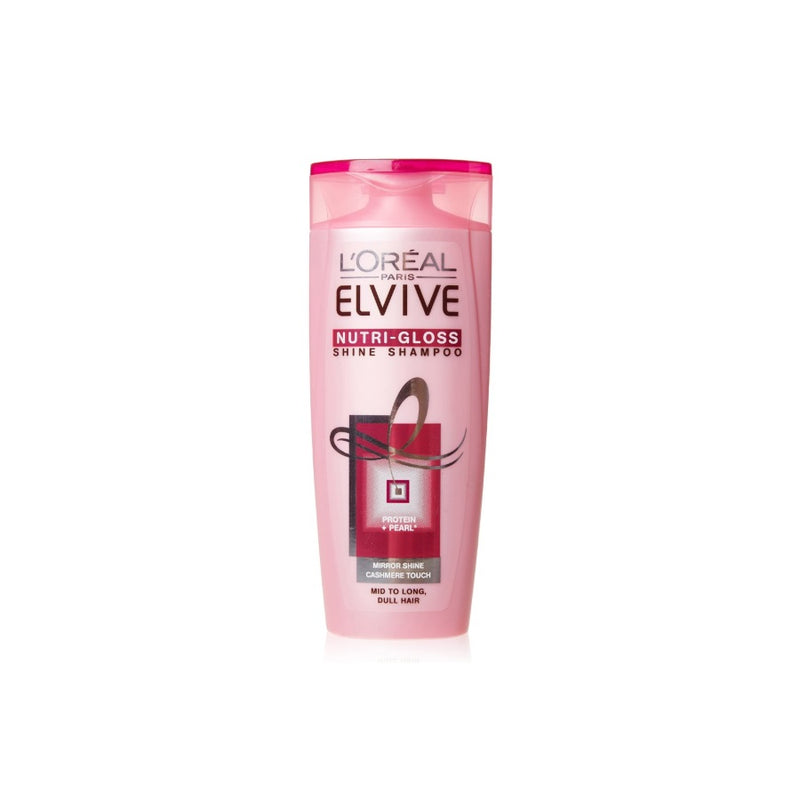 L'Oreal Elvive Shampoo Nutri-Gloss 250ml <br> Pack size: 6 x 250ml <br> Product code: 172622