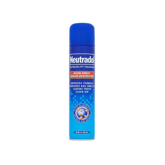 Neutradol Room Spray Deodorizer Original 300ml <br> Pack size: 12 x 300ml <br> Product code: 546241