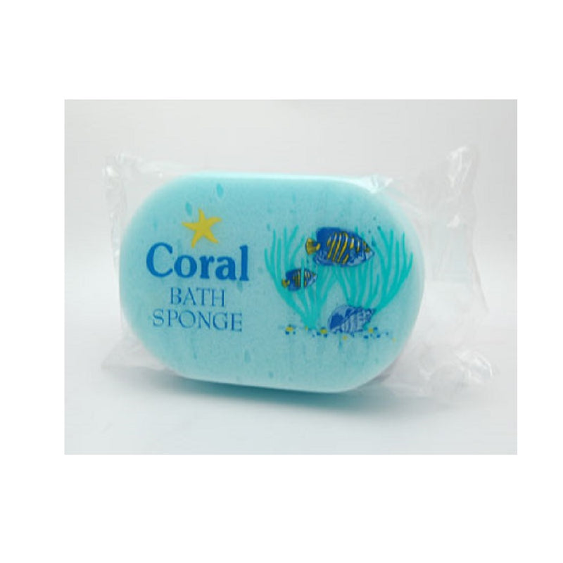 Coral Bath Sponge Singles <br> Pack size: 10 x 1 <br> Product code: 496321