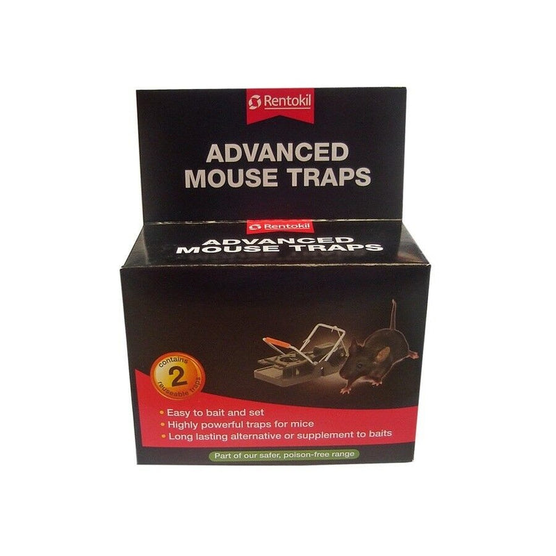 Rentokil Advanced Mouse Traps 2s <br> Pack size: 6 x 2s <br> Product code: 364430