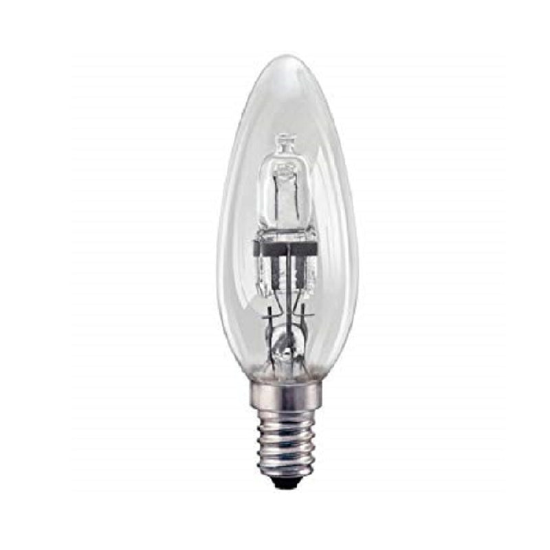 28W=37W Candle Es Screw Halo Clea <br> Pack size: 10 x 1 <br> Product code: 533007