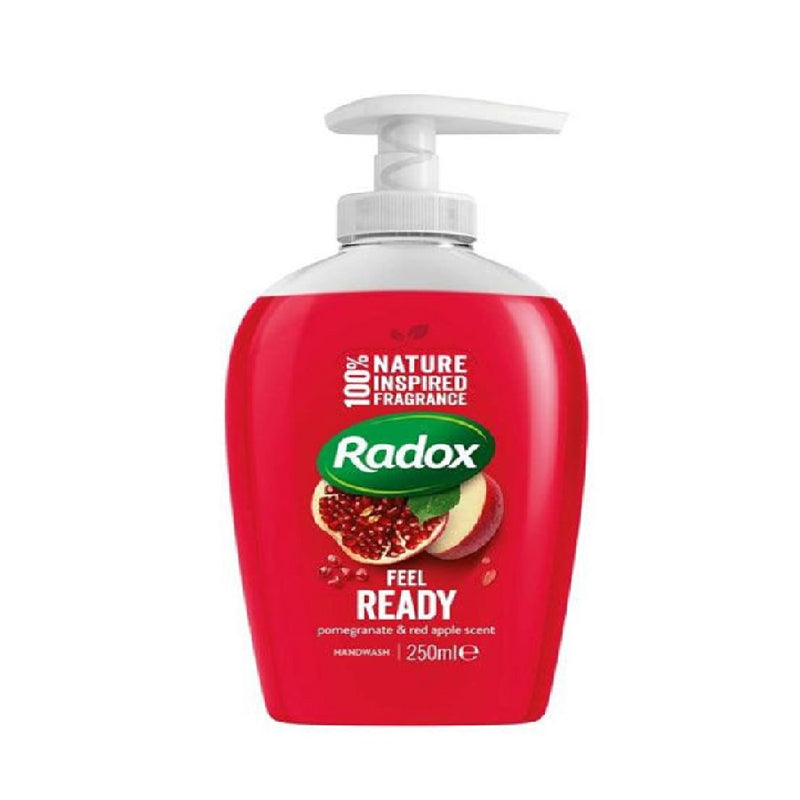 Radox Handwash 250Ml Feel Ready <br> Pack size: 6 x 250ml <br> Product code: 335571