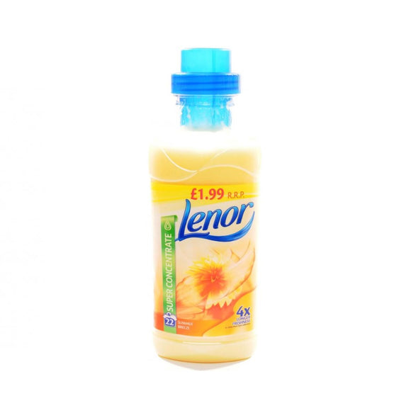 Lenor Fabric Conditioner Summer Breeze 665ml (PM £1.99) <br> Pack size: 8 x 665ml <br> Product code: 445971