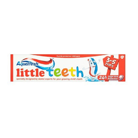 Aquafresh Toothpaste 50Ml Little Teeth <br> Pack size: 12 x 50ml <br> Product code: 284821
