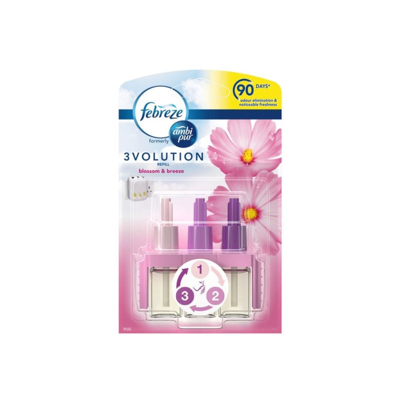 Ambi Pur 3Volution Refill Blossom Breeze <br> Pack size: 6 x 1 <br> Product code: 541859