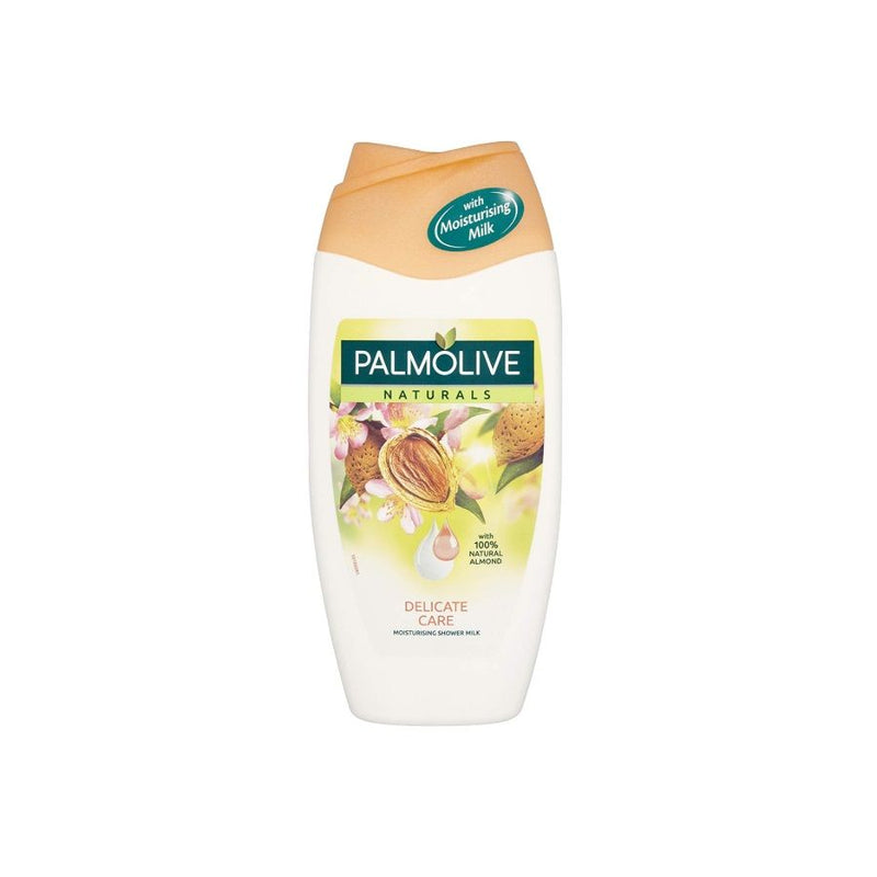 Palmolive Delicate Care Almond Shower Milk 250Ml <br> Pack Size: 6 x 250ml <br> Product code: 315547
