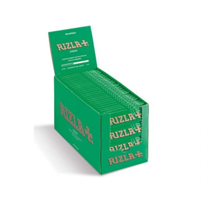 Rizla Standard Green Rolling Papers <br> Pack size: 1 x 100 <br> Product code: 146207