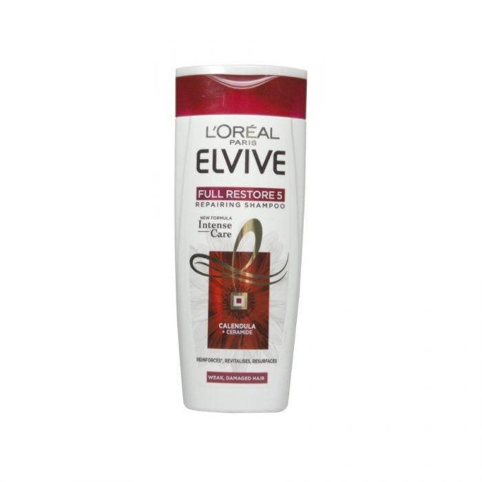 L'Oreal Elvive Shampoo Full Restore 5 400Ml <br> Pack size: 6 x 400ml <br> Product code: 172667