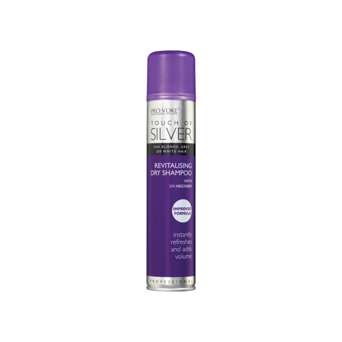 Touch Of Silver Dry Shampoo 200Ml <br> Pack size: 6 x 200ml <br> Product code: 178550