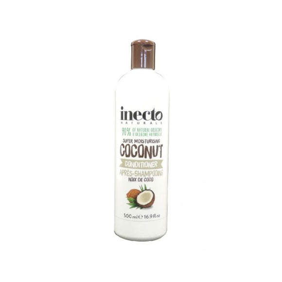 Inecto Naturals Super Moisturising Coconut Conditioner 500Ml <br> Pack size: 6 x 500ml <br> Product code: 180591