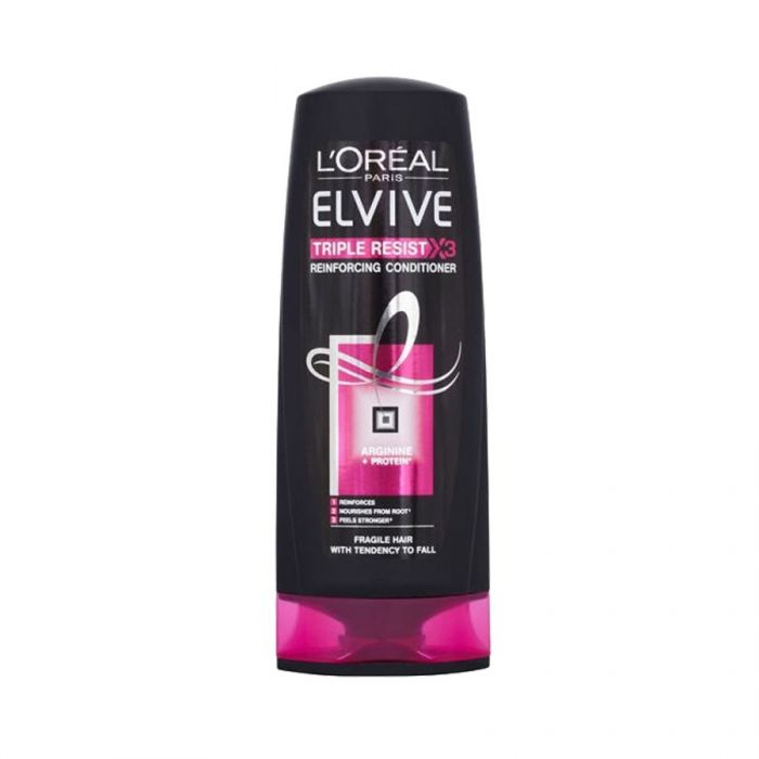 L'Oreal Elvive Conditioner Triple Resist 400Ml <br> Pack size: 6 x 400ml <br> Product code: 181370