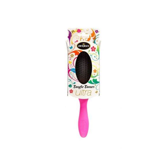 Denman Tangle Tamer Hairbrush Ultra Pink <br> Pack size: 1 x 1 <br> Product code: 213260