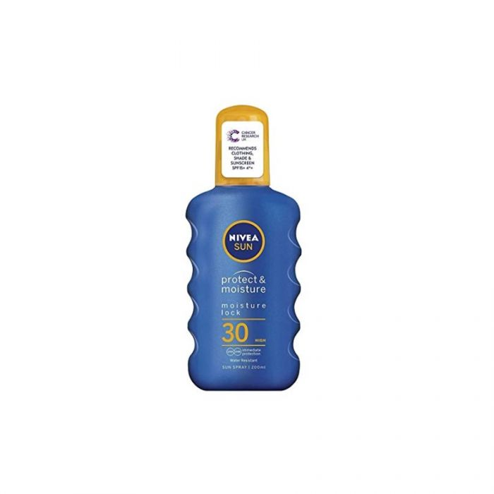 Nivea Sun Spray Spf30 200Ml <br> Pack size: 6 x 200ml <br> Product code: 224701