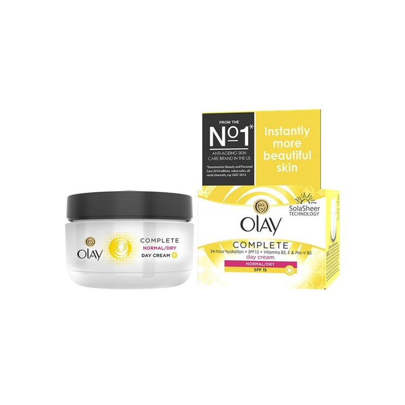 Olay Complete Care Cream 50Ml <br> Pack Size: 4 x 50ml <br> Product code: 225082