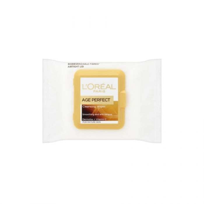 L'Oreal Paris Age Perfect Cleansing Wipes 25S <br> Pack size: 6 x 25s <br> Product code: 225453