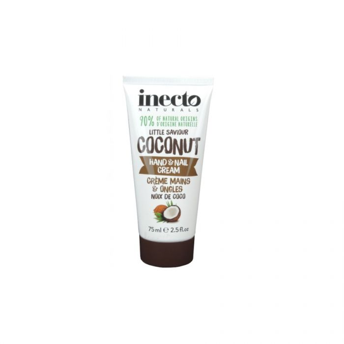 Inecto Naturals Little Saviour Coconut Hand & Nail Cream 75Ml <br> Pack size: 6 x 75ml <br> Product code: 226020