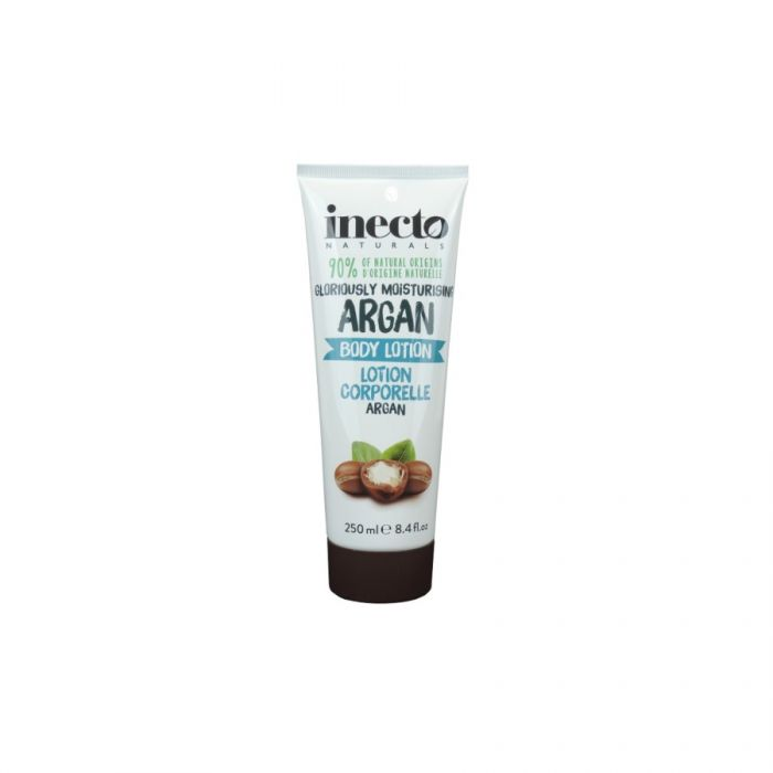 Inecto Naturals Gloriously Moisturising Argan Body Lotion 250Ml <br> Pack size: 6 x 250ml <br> Product code: 226050