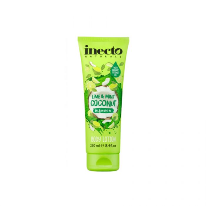 Inecto Naturals Lime & Mint Coconut Infusion Body Lotion 250Ml <br> Pack size: 6 x 250ml <br> Product code: 226052
