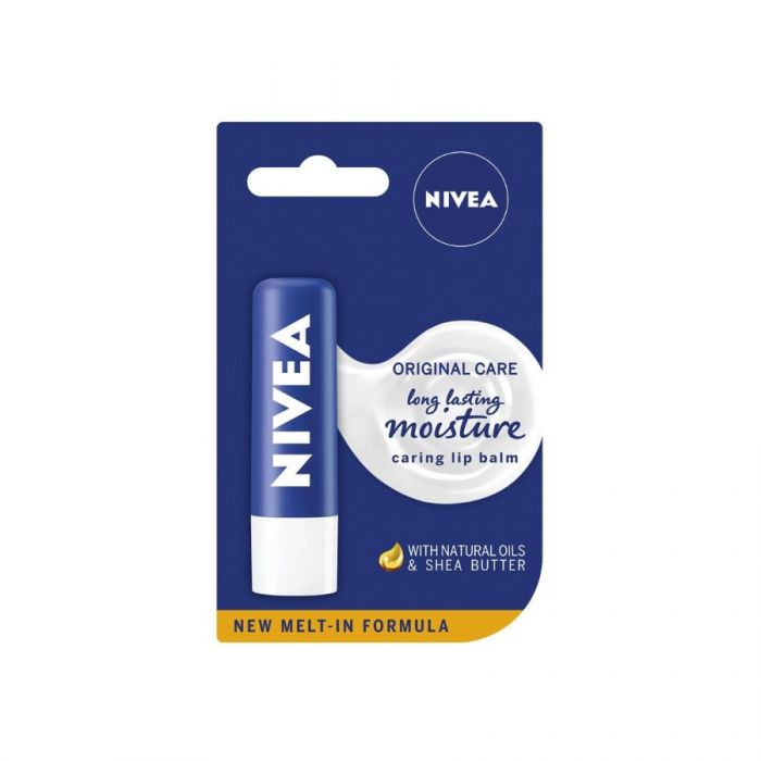 Nivea Original Care Lip Balm 4.8G <br> Pack size: 12 x 4.8g <br> Product code: 267481