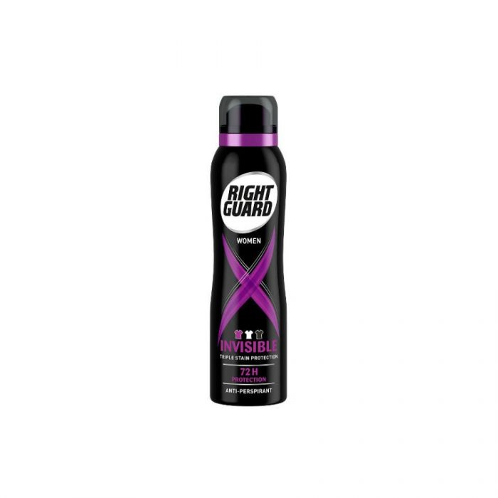 Right Guard Women Anti Perspirant Deodorant Xtreme Invisible 150Ml <br> Pack size: 6 x 150ml <br> Product code: 274810