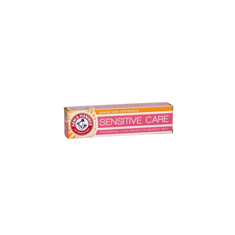 Arm & Hammer Toothpaste Sensitive Care 125Ml <br> Pack Size: 12 x 125ml <br> Product code: 281575