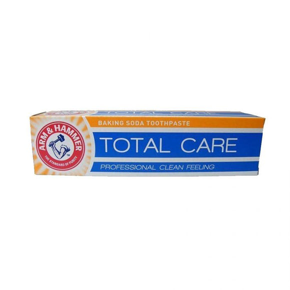 Arm & Hammer Toothpaste Total Care 125G   <br> Pack size: 12 x 125ml <br> Product code: 281581