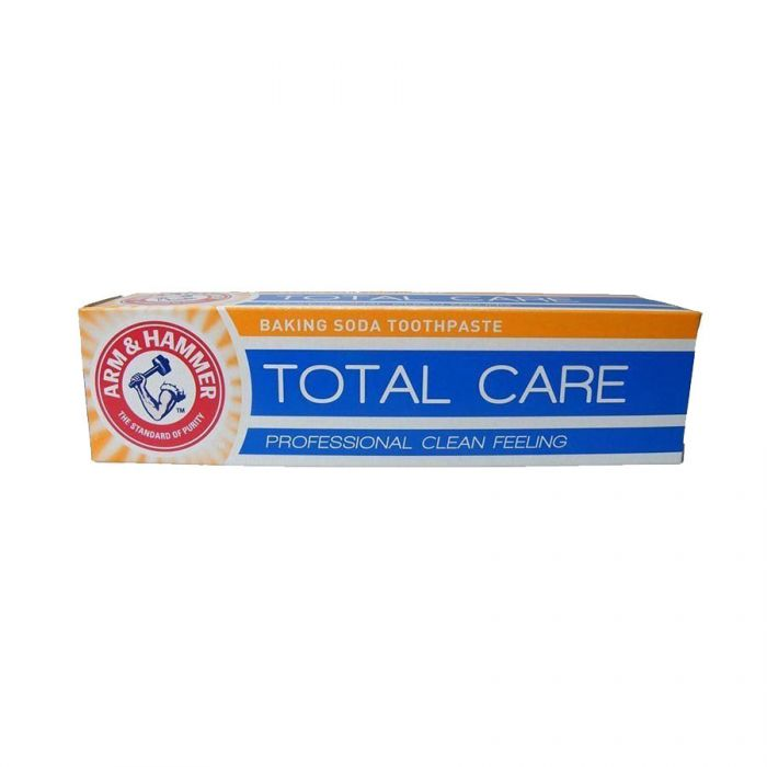 Arm & Hammer Toothpaste Total Care 125ml   <br> Pack size: 12 x 125ml <br> Product code: 281581