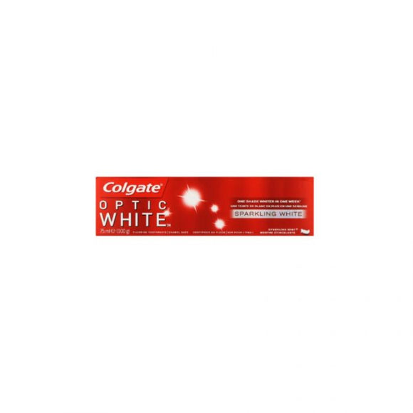 Colgate Optic White Toothpaste Sparkling White 75Ml <br> Pack size: 12 x 75ml <br> Product code: 282605