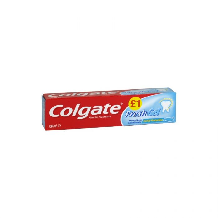 Colgate Toothpaste Fresh Minty Gel 100Ml (Pm £1.00) <br> Pack size: 12 x 100ml <br> Product code: 282791