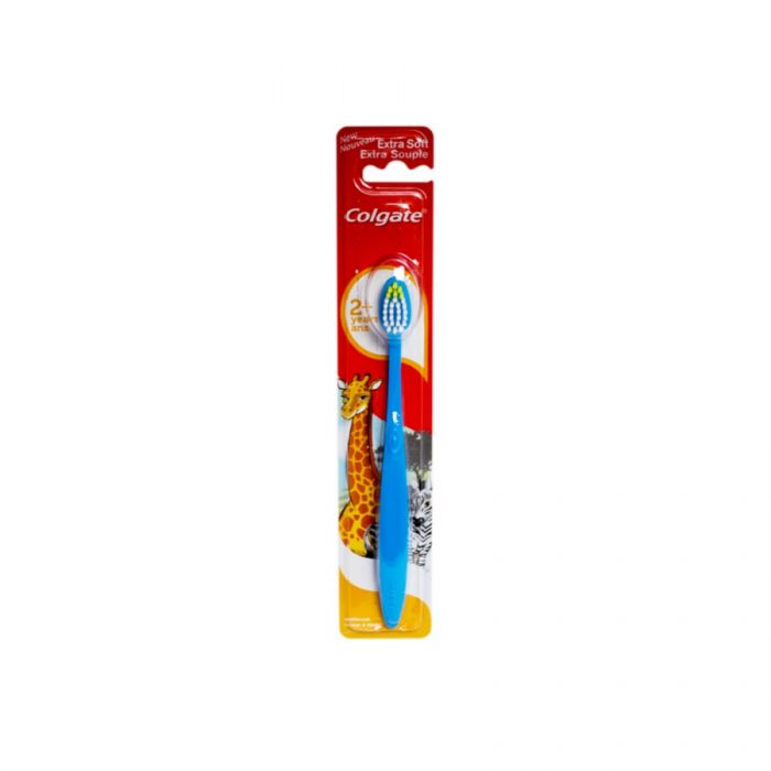 Colgate Extra Soft Junior Toothbrush 2+ Years <br> Pack size: 12 x 1 <br> Product code: 301063