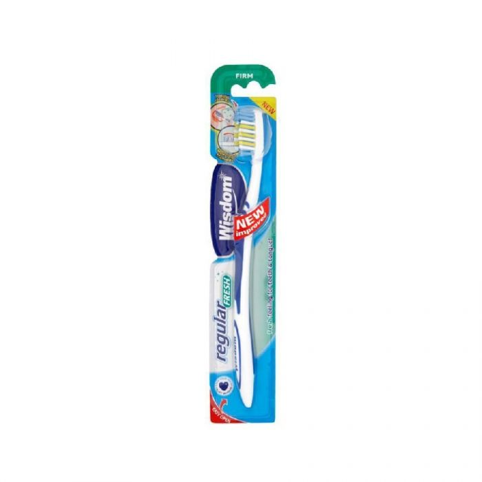 Wisdom Regular Fresh Firm Toothbrush <br> Pack size: 12 x 1 <br> Product code: 304241