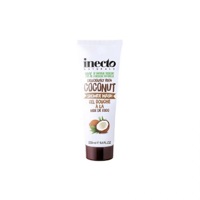 Inecto Naturals Deliciously Rich Coconut Shower Wash 250Ml <br> Pack size: 6 x 250ml <br> Product code: 313950
