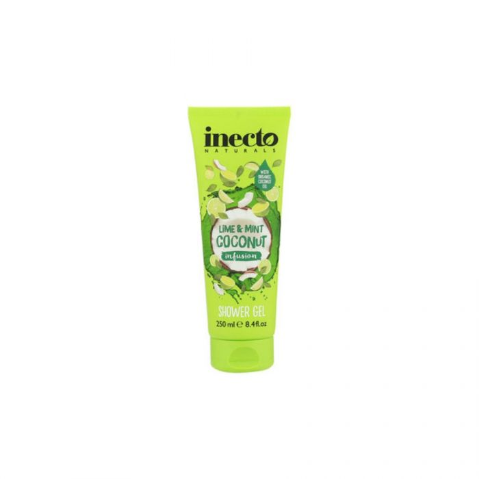 Inecto Naturals Lime & Mint Coconut Infusion Shower Gel 250Ml <br> Pack size: 6 x 250ml <br> Product code: 313952