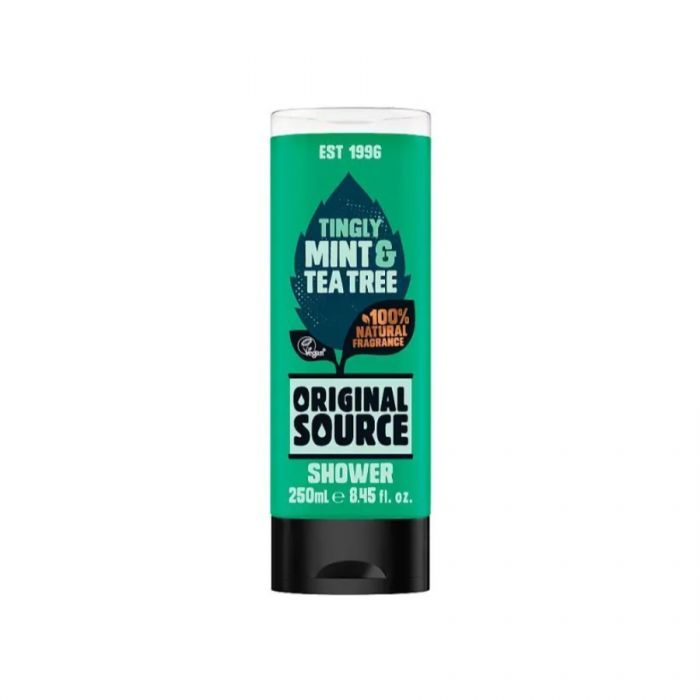 Original Source Mint & Tea Tree Shower Gel 250Ml <br> Pack size: 6 x 250ml <br> Product code: 316107